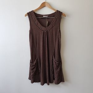 Forever 21 Striped Sleeveless Knit Tunic NWT